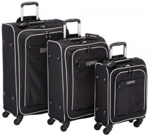 Esprit Kofferset Superlight 3-teilig (4 Rollen, mit Kabinengepäck)
