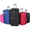 Voyagor 5-teiliges Kofferset Trolleys (Weichschalenkoffer)