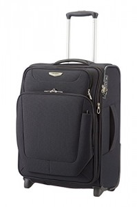 Samsonite Spark Upright 55/20 Exp Koffer, 55cm, 49 L, Black