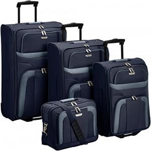 Travelite Kofferset Orlando 4-teilig (mit Bordtasche)