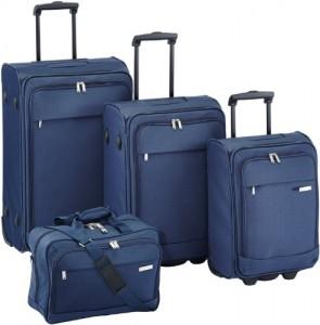 Travelite Kofferset Portofino 4-teilig (mit Bordtasche)