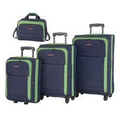 Travelite Ibiza Kofferset 4-teilig (mit Bordtasche)