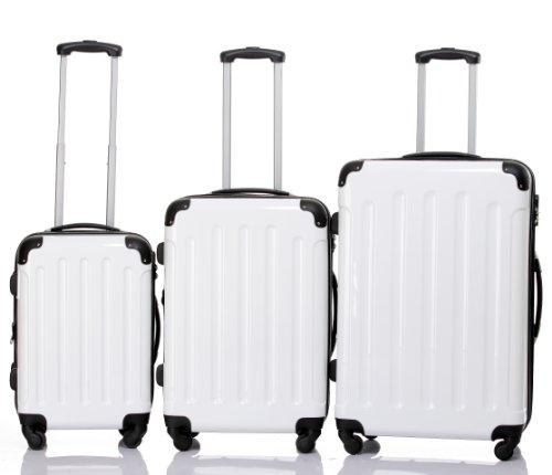 Beibye LG2048 Reisekofferset mit 3 Trolleys (Hartschalenkoffer)