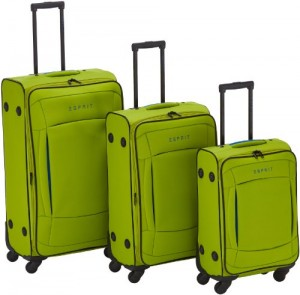 Esprit Kofferset Colors 3-teilig (4 Rollen, mit Kabinengepäck)