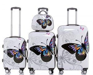 Beibye 2060 Hartschale 4-teiliges Kofferset